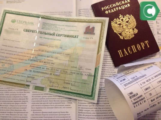 Для оформления потребуется паспорт и денежная сумма