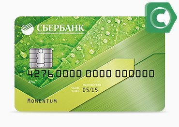 Моментум - универсальная дебетовая карточка