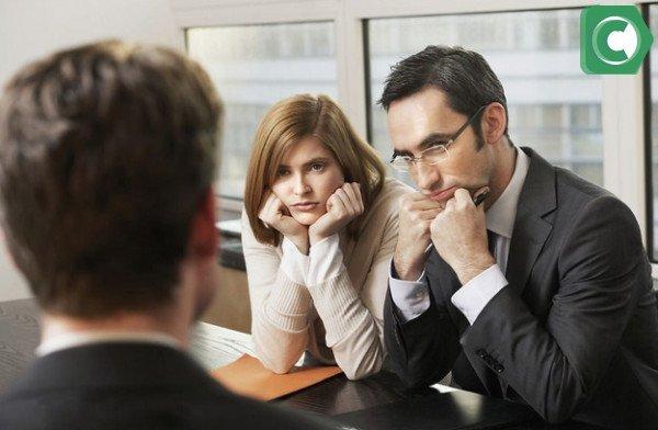 На собеседовании задают вопросы как личного характера, так и профессионального