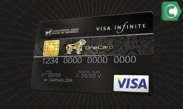 Условия получения карты Visa Infinite в Сбербанке