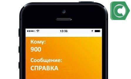 Команда СПРАВКА на номер 900 для проверки подключения к Мобильному банку