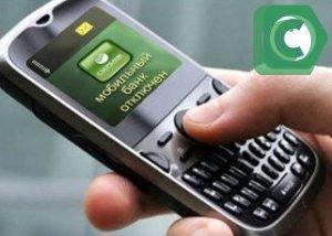 Мобильный банк - это сервис, который позволяет отслеживать состояние счета без посещения отделения банка