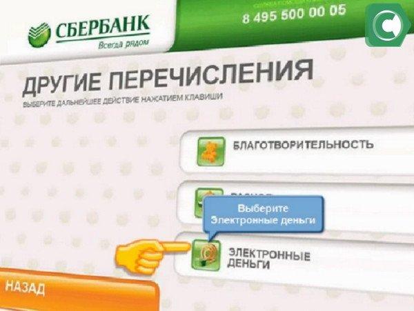 Владельцам электронного кошелка Сбербанка предлагают несколько способов переводов