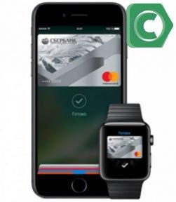 Apple Pay Сбербанк на iPhone
