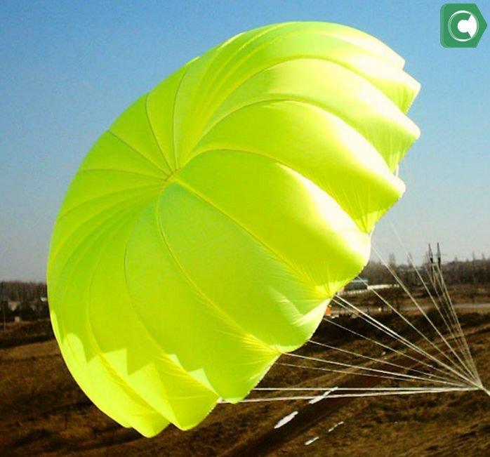 Зеленый парашют Сбербанк