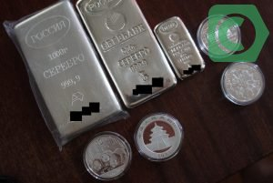 Курс срібла в ощадбанку росії на сьогодні