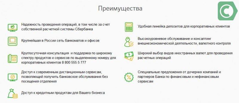 обслуживание расчетного счета в сбербанке для ип