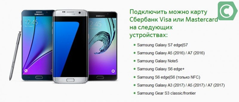 Samsung Pay Visa
