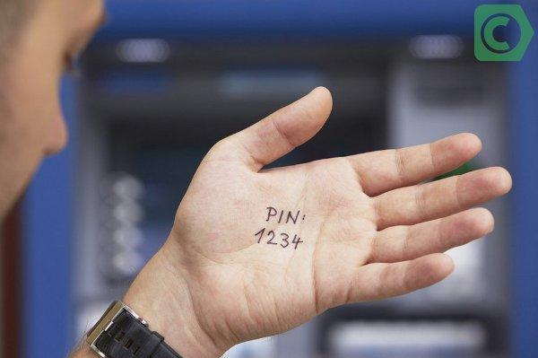 как восстановить пин код банковской карты сбербанк