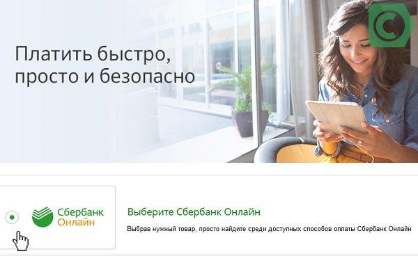 как оплатить покупки онлайн