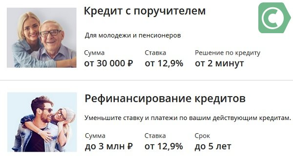 кредитс поручителем