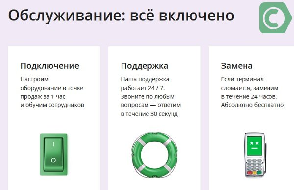 как принимать оплаты на карту банка за товары и услуги