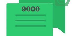СМС с номера 9000