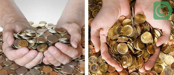 как разменять купюры в банке