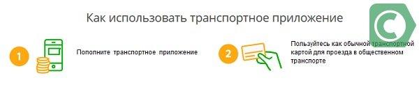 карточка для оплаты проезда в Москве