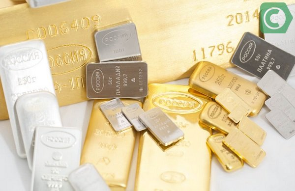 Слитки золота 999 пробы можно приобрести в Сбербанке