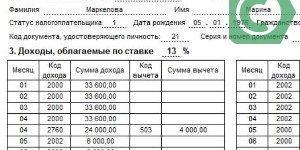 Справка по форме банка Сбербанк