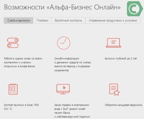 альфа бизнес онлайн