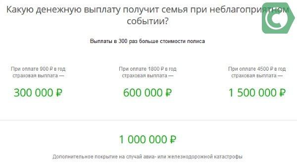 размер денежной выплаты для семьи