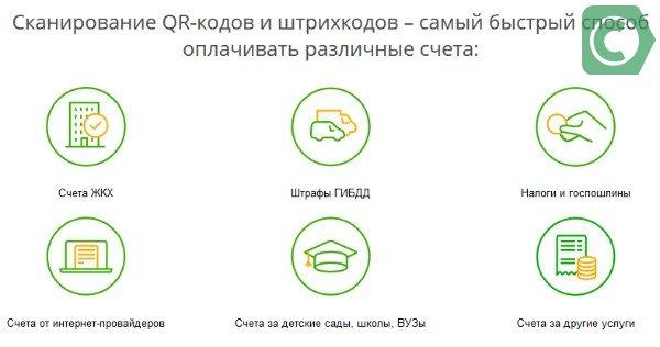 Как оплатить квитанцию по QR-коду