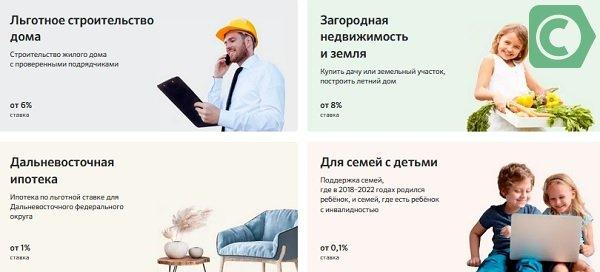 низкие проценты по ипотеке сбер